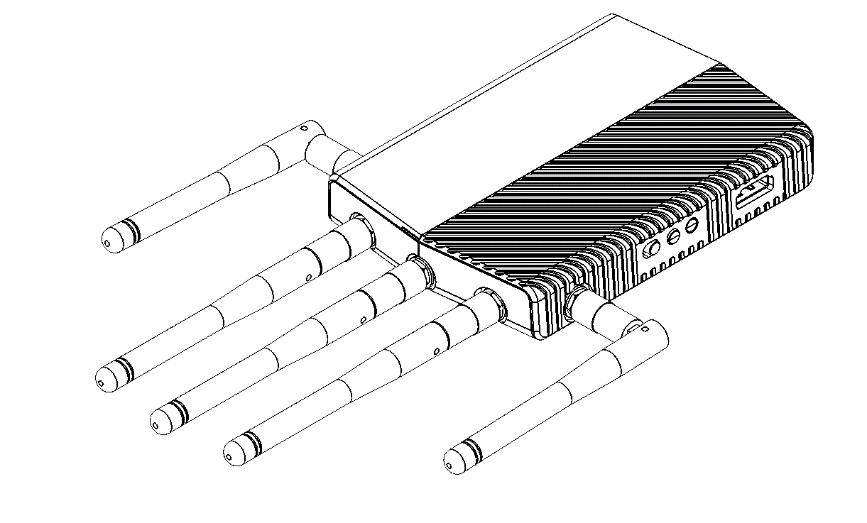 Connecting the Ground Unit Antennas - Box 4