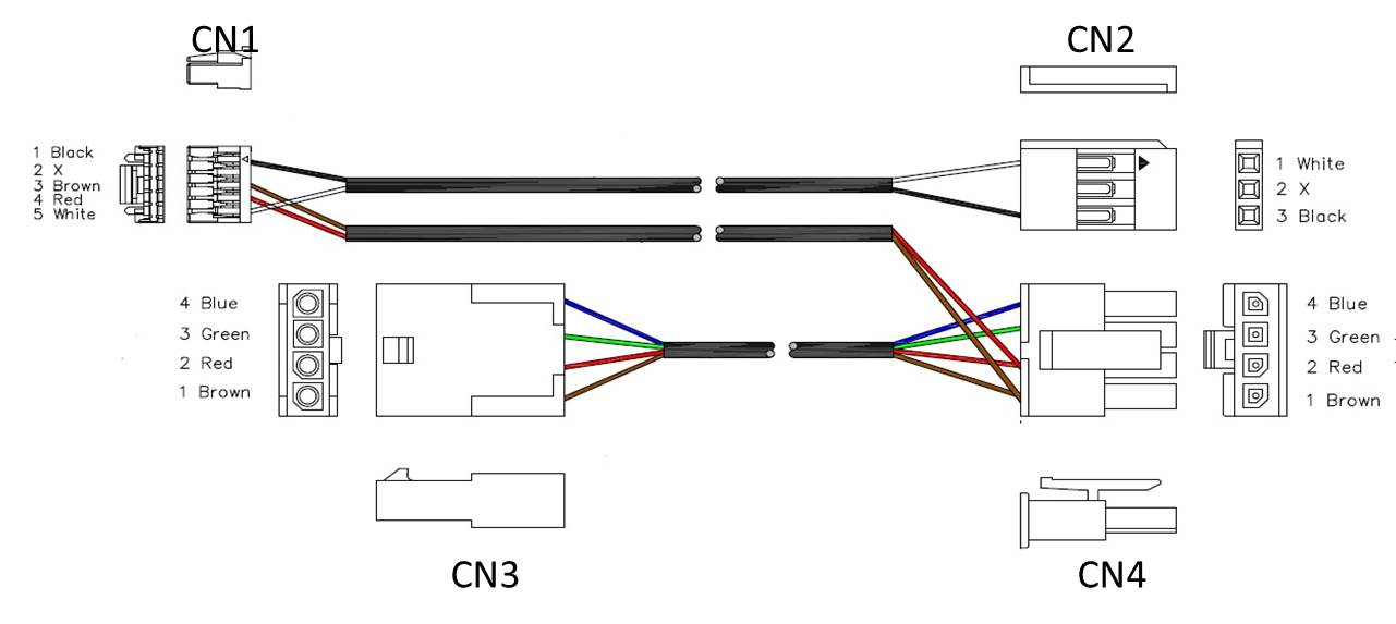 Canbus S Bus Cable Pinout Connex Support